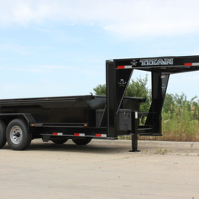 Titan Trailer Announces New Smooth Side Dump Trailer