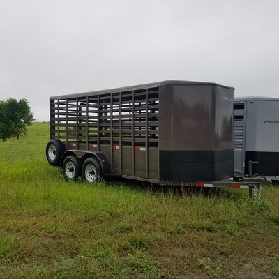 Open Sided Stock Trailer