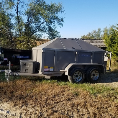 Bear Proof Trash Dump Trailer